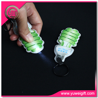 Hot sale new arrival promotional items led keychain lights mini flashlights