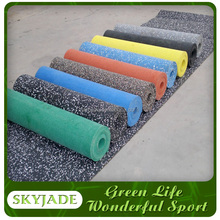 outdoor rubber flooring for playground with rubber tiles factory price