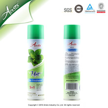 Mint Scented Natural Room Fresheners Spray