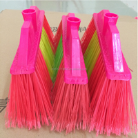wooden handle plastic broom/plastic broom/china broom