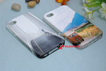 Phone cover for iphone 4 4s High quality 3d sublimation film flexible case sublimation phone case for apple iphone4 4s