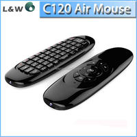 C120 Air Mouse T10 Rechargeable Wireless Air Fly Mouse and Keyboard Combo for Android TV Box C120