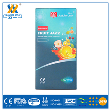 Natural Latex Rubber Smooth Plain Sex Condom Manufacture China Flavored Fruit