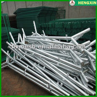 wire mesh fence posts/Round Metal Fence Post Caps/reinforce Y fence post
