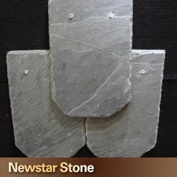 Chinese grey color natural slate roof tiles roofing slate