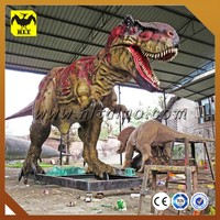 Inflatable Animatronic Dinosaur, Dinosaur Sculptures with Pneumatic System