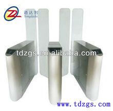 Bridge type circular bead IC card sliding turnstile gate