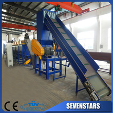 waste pe film recycling machinery/waste pp film washine line/used plastic washing recycling line