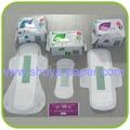 Higiene femenina cilindro azul bio toalla sanitaria, marcas para el supermercado