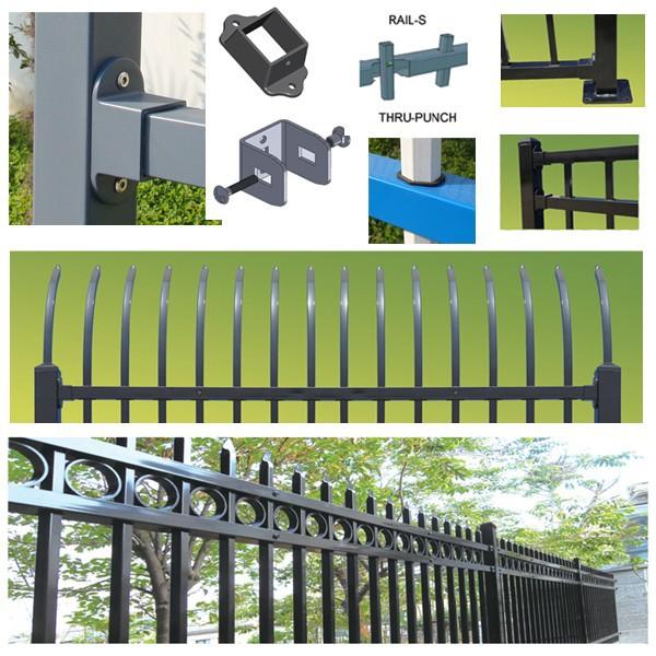 Plegadora cercas de madera/barato jardín piscina diseño poste de ...