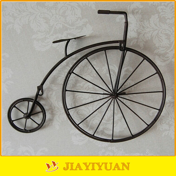 Wall Art Metal Bicycle : New product wall decor metal antique black art bicycle