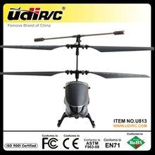 udirc infrarrojos 3ch rc helicóptero u813