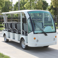 14 seat Electric luxury tour buses DN-14 with CE Certificate