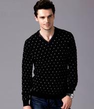 calidad superior de hombres suéters mezclada tejer modelos 16089