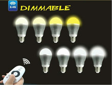 9W Wi-Fi enabled smart phone controlled led bulb light