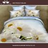 100% cotton hot sale 4 pcs 3D reactive printed bed sheet