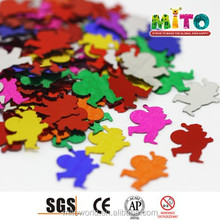 MTLP-CR004 father shaped confetti maker machine of colorful