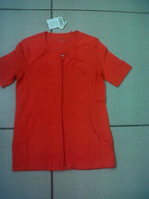 LADIES TOP 1X1 RIB WITH FRONT ZIPPER (Garment Stock lots / Apparel Stock / stocklots / Garment Apparel from India)