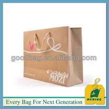 Mj-spb01 de papel impreso promocional / marrón / papel kraft made in gz, China