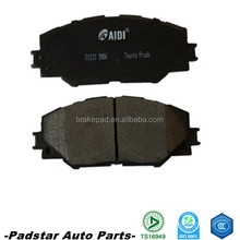 shandong industry and trade brake pads with ceramic formulation