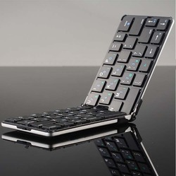 Flyshark iLepo 360 Mini 2.4G wireless keyboard foldable Ultra Thin Foldable wireless Keyboard For Iphone 6 Samsung android Phone