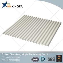 Foshan China Roof Tile Making Machine Fiberglass Spanish UPVC Roofing Tiles For Building/For House/ For Villa