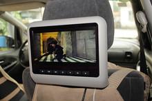 9 inch widescreen digital panel car rear seat detachable headrest monitor