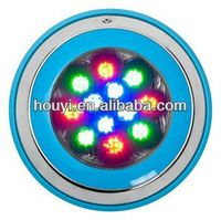 Free shipping High brightness Full color 54W pool lamp spa/pond/fountain wall mounted ip 68 led underwater light