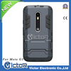Rubberized Mobile Phone Case For Moto G3, Customed Phone Cover