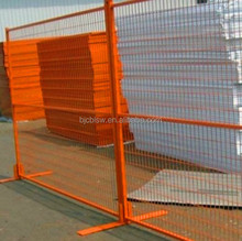 Electric Galvanized Temporary Fence / Easily Assembled Portable Fence / Building Portable Barriers