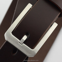 Jadear Fashion Stainless Steel Buckle OEM leather belt process manufacturing C01
