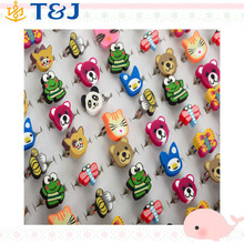 Gift Children Cute Rings Mixed Styles Polymer Clay Lovely Animal Adjustable Rings