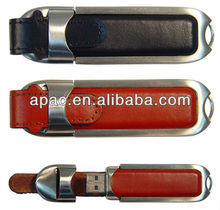 Easter Day promotion leather usb 2.0 flash drive 8gb