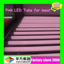 1.2m pink tube high lumens high t8 fresh meat led case light , lumens high t8 meat