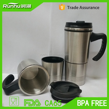 Second section double wall stainless steel tea cup RHS301P-16