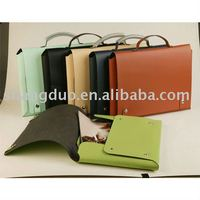 Protable Design Super Quality Handmade Leather Briefcase