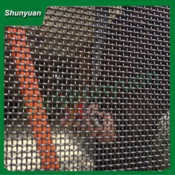 protection from bullet knife security stainless steel window screen!