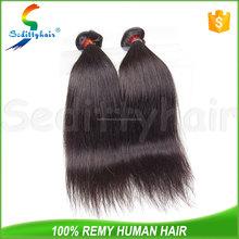 wholesale fashion style hair silky straight 6a 100 human hair extension