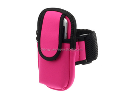 New Design Sports Running Wrist Pouch Mobile Cell Phone Arm Band Bag