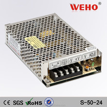 50W load switch manufacturers S-50-24 24v 2a power supply