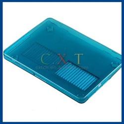"Transparent Plastic Case for Apple Retina Macbook Pro 13"" Laptop (Blue)"