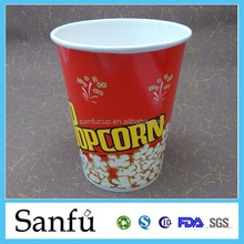 fried chicken disposable paper food cup take-away paper bucket French fries box with chips popcorn and chicken
