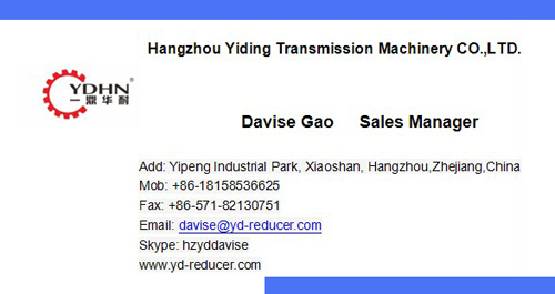 New type YDHN brand K series Helical geared reducer motors with shaft