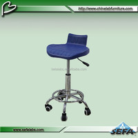 hospital lab chair/stool with wheel