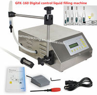 China Hot Sale Electric Digital Control E-liquid Filling Machine