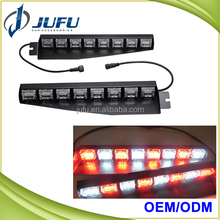 Sun Visor Flash Lightbar Emergency Warning Strobe Split Mount Deck Dash mounted emergency Lights