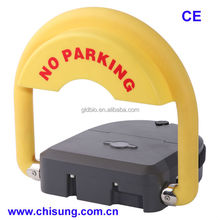 High quality anti-theft solar remote parking lock for car parking lot system