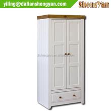 Competitive Price Wooden Bedroom Storage Wardrobe Closet