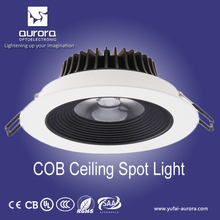 Adjustable recessed isolated driver cob downlight