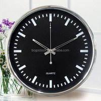 2014 Hot Selling Popular Decorative Metal Wall Clock For Hotel